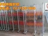 伸缩式活动护栏哪里有卖|不锈钢移动护栏生产厂家