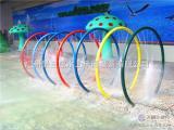 水上乐园设备水上游乐设施儿童戏水JZL-XS008七彩戏水圈