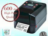 台湾富码条码打印机LP600高清桌面600dpi