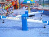 水上乐园设备水上游乐设施儿童戏水JZL-XS009喷水跷跷板