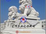 宏辉雕刻花岗岩石狮子 高300cm