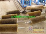 岩棉机械清扫清理钢丝刷滚 保温棉清理网套钢丝弹簧滚刷