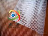 现货供应2.1米宽周转箱防尘网格布,透明夹网布,透明网格布