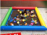 大型充气水池 沙滩池 儿童戏水池 广场公园室外游乐设备