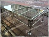 供应杭州玻璃舞台,透明舞台,玻璃拼装舞台