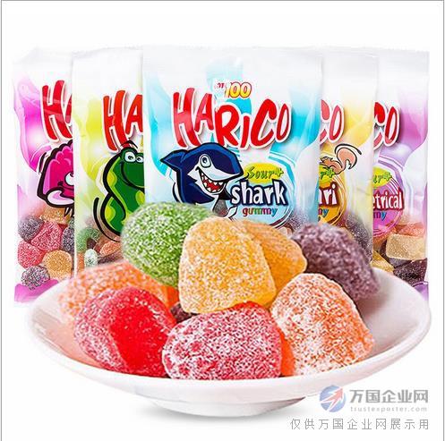 马来西亚进口 一百份harico动物形酸味软糖150g