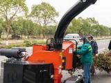 生产加工移动树枝粉碎机 碎木机 综合木粉机械