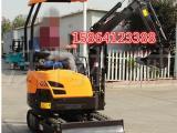 沃特1.6吨可挖树根的小挖机液压履带式微型勾机挖掘机生产厂家