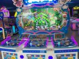 儿童投币彩票机 欢乐动物城彩票游戏机 欢乐动物城儿童游乐机
