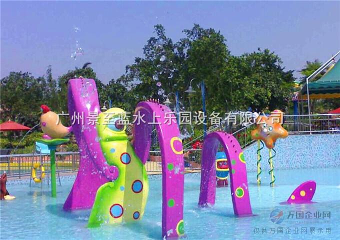 水上乐园设备水上游乐设施儿童戏水jzl-xs015丝带拱门