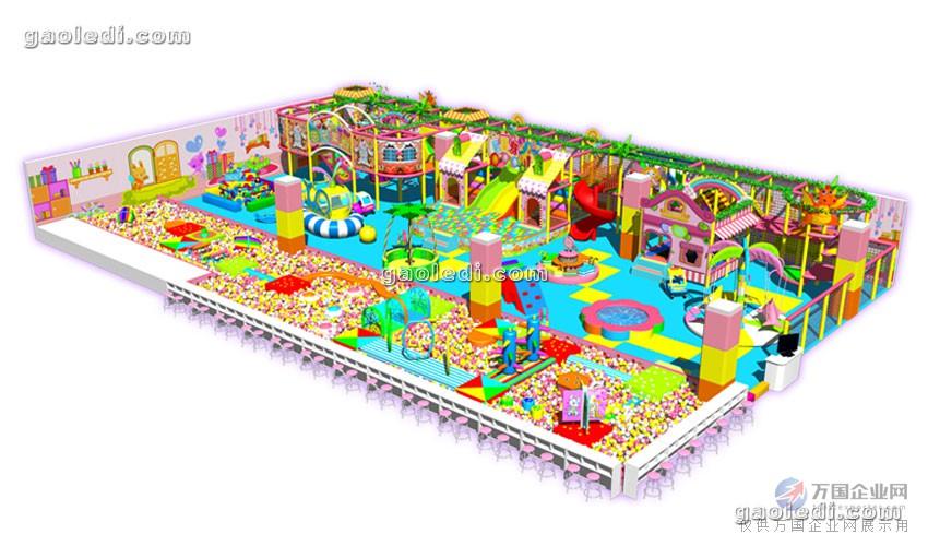 30-60平米的淘气堡室内儿童游乐场儿童乐园怎么设计