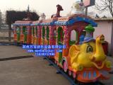 新款游乐场设施大象火车儿童游乐设备