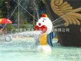 水上乐园设备水上游乐设施儿童戏水JZL-XS022小丑喷水