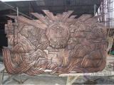 门神铜浮雕生产铸造_门神铜浮雕_恒保发铜雕厂(图)