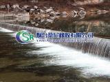 桑尼橡胶气动钢盾橡胶坝生产厂家价格 气盾闸坝设计 生产 安装