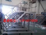 工业铝合金梯子车间铝材设备用梯子大型设备配件 图