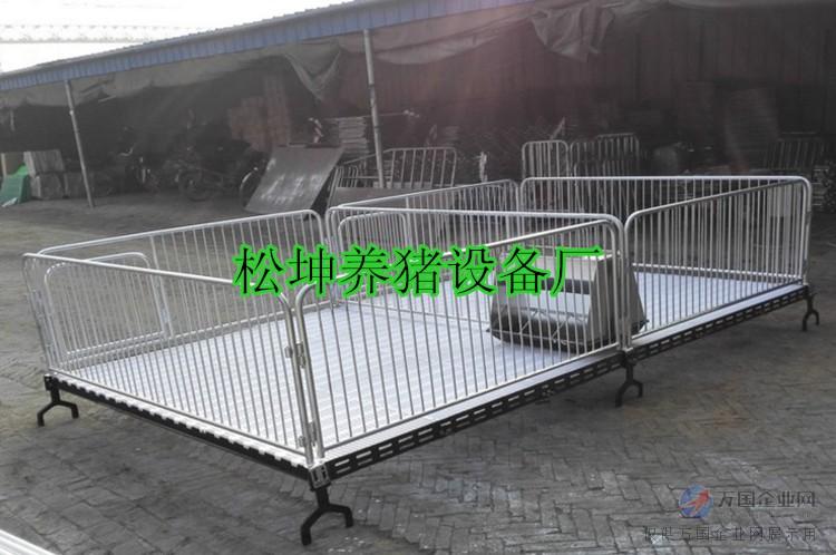 仔猪保育床育肥栏 围栏猪场养猪设备 松坤直销产床图片