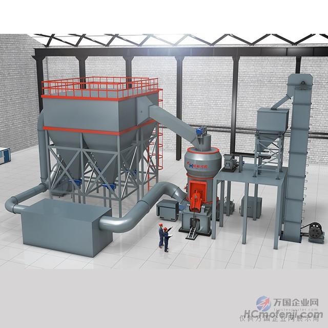 如何解决矿渣立磨机研磨矿粉时磨内压差不平衡的问题
