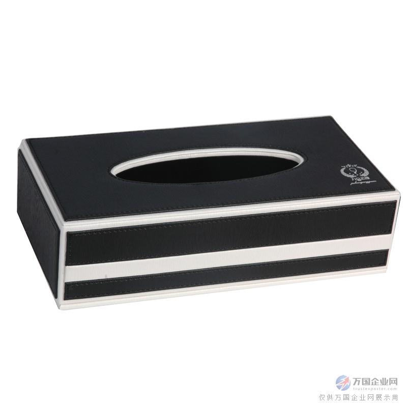 云南酒店用品 宾馆用品 黑色长方形纸巾盒