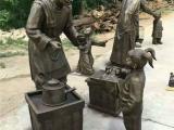 玻璃钢民俗雕塑,民俗文化小品雕塑制作厂家