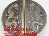 高档铜门铜雕刻青古铜拉手生产厂家