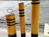 钢管警示柱 反光烤漆防撞柱 防护桩 路桩 隔离桩