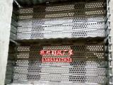 刮板链板输送带 不锈钢提升链板价格 冲孔链板市场行情