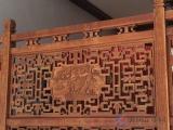 扶手栏杆护栏防腐木实木古建筑