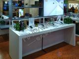 手机柜台保养方法 手机展示柜台设计 手机展柜摆放技巧 海湃