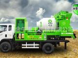 供应车载搅拌泵,搅拌泵送一体机,金牛C2