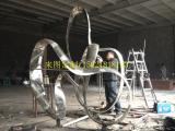 定制不锈钢景观雕塑、上海不锈钢雕塑、来图定制