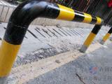 U型管防护桩 隔离桩 镀锌管隔离护栏 道路防撞栏杆