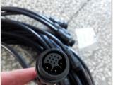厂家供应m25-2芯+6芯防水连接器 信号加电流防水接头