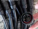 防水连接器厂家优质供应M25-3芯+8芯防水接头 防水连接器