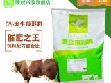 养牛吃什么长的快育肥牛专用预混料
