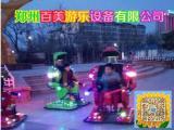 广场新款机器人玩具车,电动战火金刚机器人行走车价格