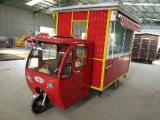 厂家直销电动三轮车移动小吃车多功能餐车麻辣烫小吃车