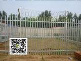 围墙锌钢栅栏厂家批发 停车场围栏 小区别墅护栏可定做