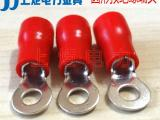 上炬圆形预绝缘端头 RV1.25-3圆形接线端子O型冷压线鼻