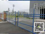 现货蓝白三横杆围栏厂家批发 围墙护栏可定做 包安装
