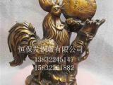 铜公鸡,恒保发铜雕工艺品厂,定制铜公鸡风水摆件镇宅