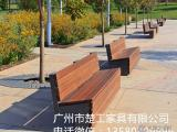 公园休闲坐凳,铁艺园林椅,户外休闲椅,景观长条凳厂家