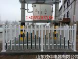 固定式变压器围栏 玻璃钢箱变护栏 PVC塑钢草坪护栏 厂家