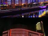 承德市泓媒广告设计制作安装高速广告塔楼体亮化工程