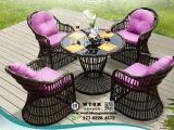 天津铸铝户外桌椅 塑料户外桌椅 藤编户外桌椅