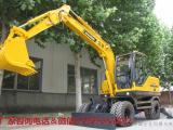 90轮式挖掘机多少钱一台
