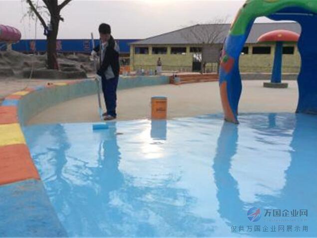 梅河口天蓝色泳池漆|温泉池刷蓝色固化剂价格