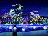 灯光节秀市场怎么样 哪类城市适合做灯光展 灯光秀出租