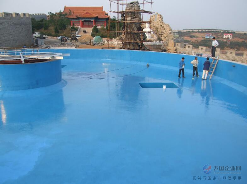 桦甸蓝色水上乐园漆|泳池密封处理液