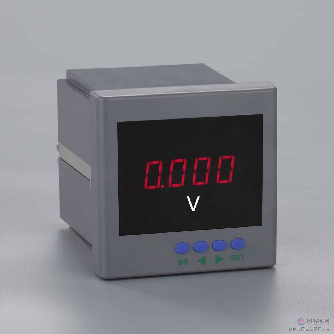 单相数显交流电压表SR204U-9K1 SR204U-AK1